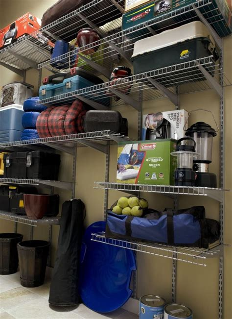 17 best images about garage on wire shelving