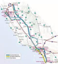 california high speed rail map route ca proposed high speed routes pre 2005 high speed rail