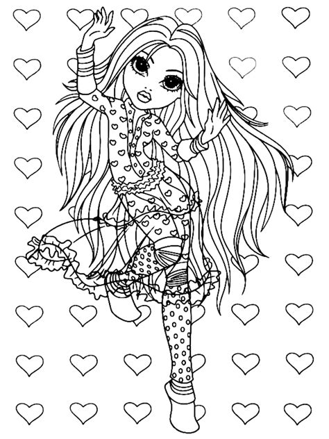 moxie girlz coloring pages7 coloring kids