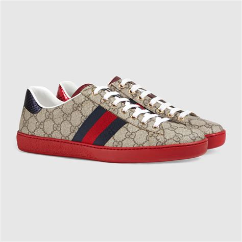 supreme shoes ace gg supreme sneaker gucci s sneakers 429445k2lh09767
