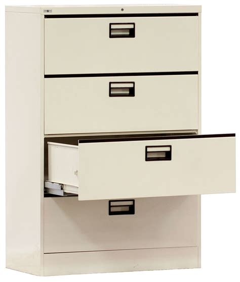 Steel Lateral File Cabinet Steel Lateral File Cabinet 4 Doors Hermaco Commercial Inc