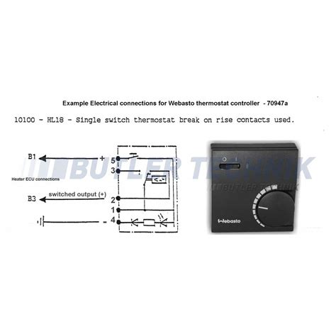 webasto thermostat wiring diagram k