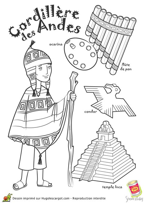 Inca Temple Coloring Sheet Pictures To Pin On Pinterest Inca Coloring Pages 2
