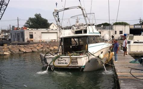boat salvage yards long island salvaging boats from sinking marine services