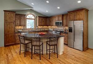 kitchen triangle design with island prairie kitchen rustic kitchen minneapolis by