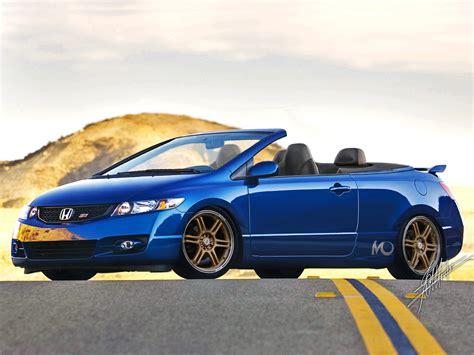 Honda Civic Convertible honda civic si convertible by montch on deviantart