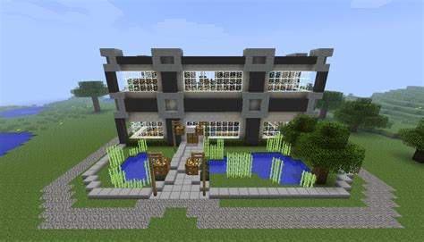 modern house minecraft minecraft modern home mcf server by cj64 on deviantart