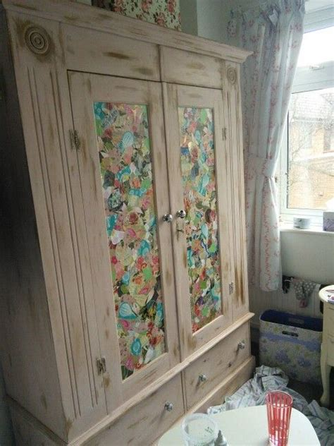 Decoupage Wardrobe - decoupage wardrobe wardrobes wardrobes and