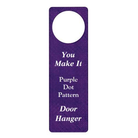 How To Make Door Hangers by Diy Make Your Own Custom Door Hanger V05 Zazzle
