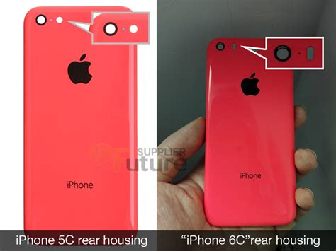 Housing Casing Iphone 5s Like Model Iphone 6 Silver iphone 6c rear leaked in version compared to the