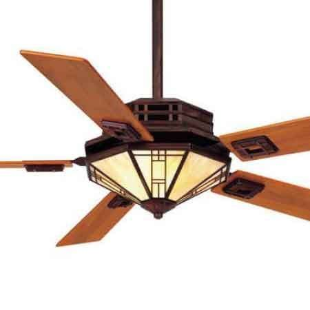 mission style ceiling fan mission fan with amber shade and teak blades mission