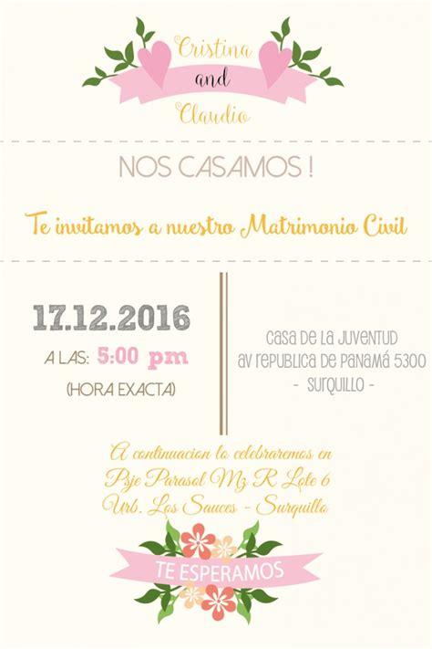Ejemplos De Invitaciones De Boda Iellascom Moda   ejemplos de invitaciones de boda iellascom moda matrimonio