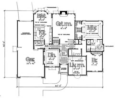 Ultimate Floor Plans by Traditional House Plan 121050 Ultimate Home Plans