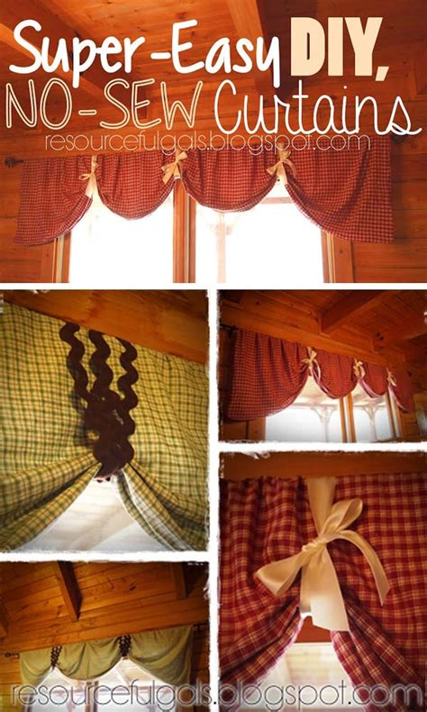 no sew curtain ideas the most 22 cool no sew window curtain ideas amazing diy
