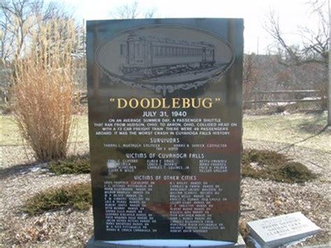 doodlebug crash the doodlebug disaster cuyahoga falls ohio usa