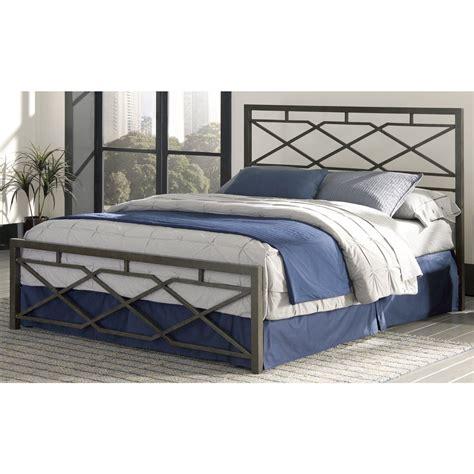 carbon steel folding bed frame w headboard footboard