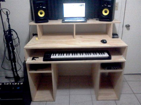 Studio Desk Diy Diy Home Recording Studio Desk Quotes