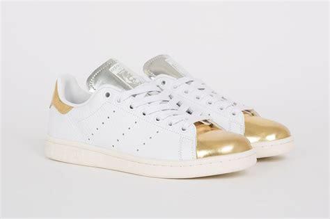 Sneaker Adidas Gold adidas stan smith white metallic gold silver adidas sneaker obsession
