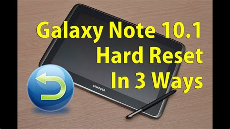 Samsung Galaxy Note 10 Reset by Galaxy Note 10 1 Factory Reset 3 Ways