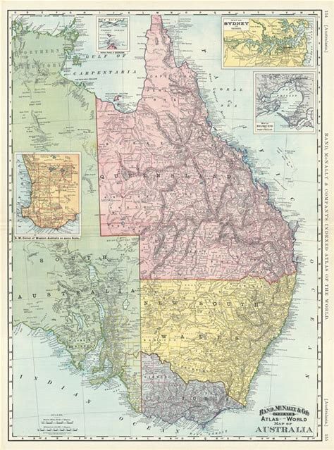 map eastern australia map of australia geographicus antique maps
