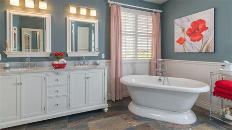 White Wainscoting Bathroom by How High Should You Wainscot A Bathroom Wall Angie S List