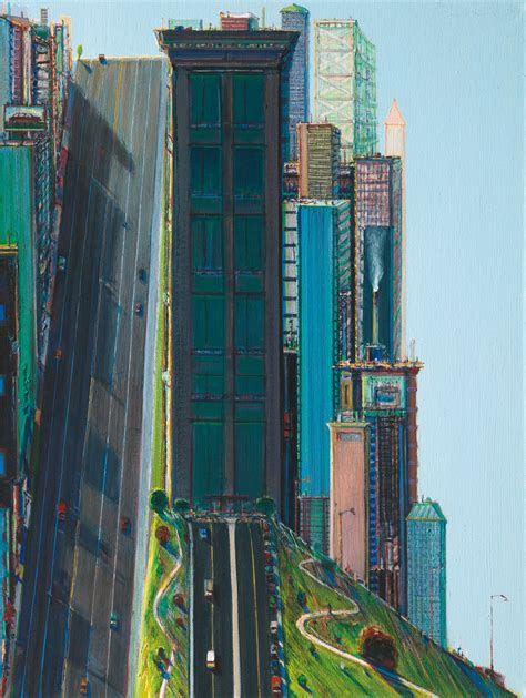 artists wayne thiebaud cityscapes