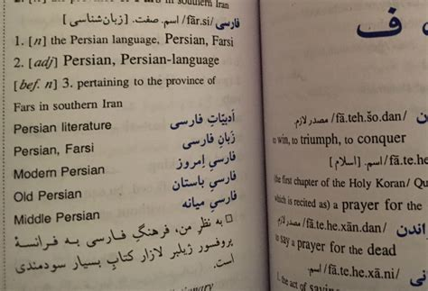 farsi language critical language mentor