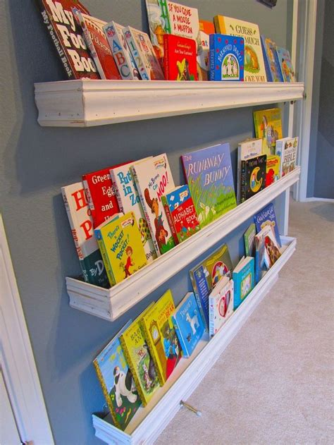 nursery book shelves genius diy