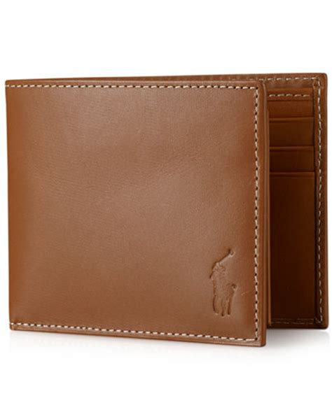 Polo Wallet For polo ralph s wallet burnished passcase accessories wallets macy s