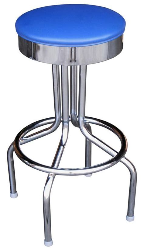 Flat Stool by Chrome Tulip Bar Stool Flat Bar Stools And Chairs