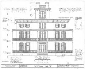 House Elevation Dimensions File Watertown Octagon House Elevation Png Wikimedia Commons