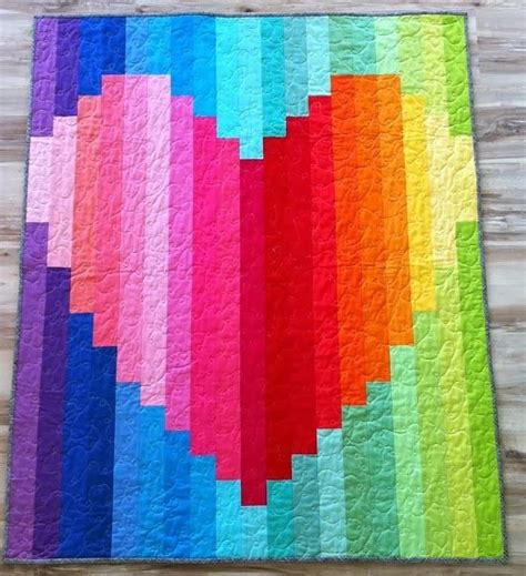 The Rainbow Quilt Pattern by Best 25 Rainbow Quilt Ideas On