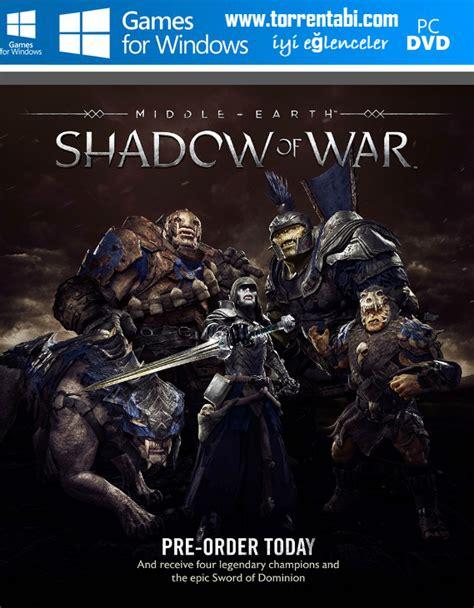 Middle Earth Shadow Of War Silver Edition Reg 3 Ps4 middle earth shadow of war silver edition torrent oyun