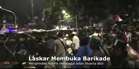 Polo Shirt Tshirt Kaos Kerah Front Pembela Islam Keren detik detik jelang ricuh saat demo 4 november