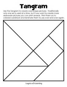 tangrams template best 25 tangram printable ideas on