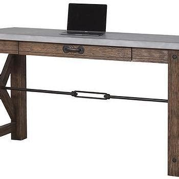 weathered wood writing desk aquila weathered wood writing desk