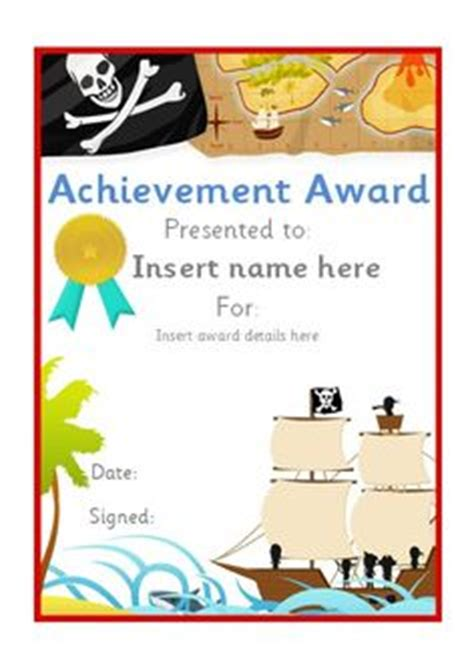 pirate certificate template editable school certificates on 16 pins