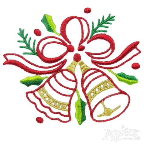 embroidery design sites christmas holly embroidery design