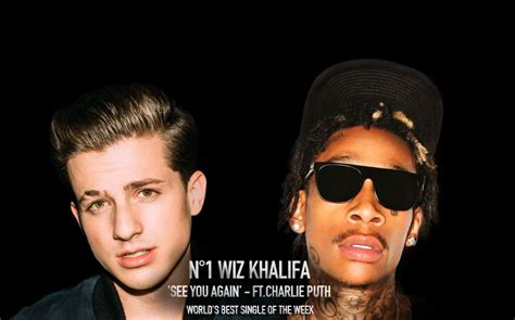 charlie puth rap wiz khalifa s quot see you again becomes 1st rap video to