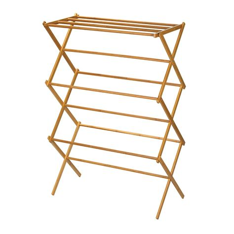 Clothes Drying Rack by Wooden Clothes Drying Rack Hanger Folding Vintage Classic Easy Storage Organizer Ebay
