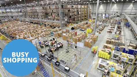 inside amazon sneak peak inside the amazon warehouse in the run up to