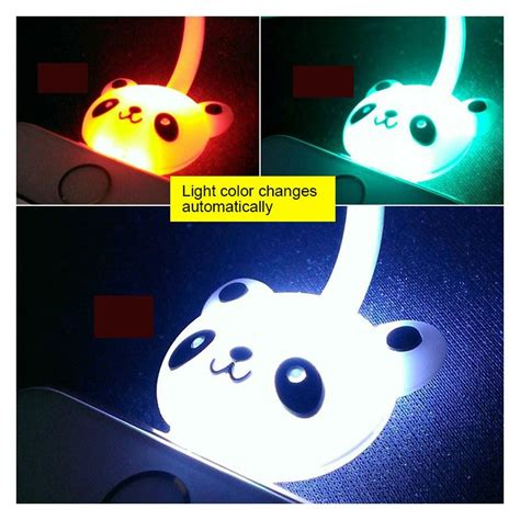 Cable Micro Karakter kabel data micro usb led karakter panda
