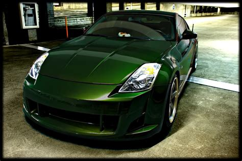 just got my car back from paint midnight pearl green page 3 my350z nissan 350z and