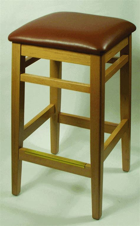 commercial backless bar stools natural backless commercial square bar stool w choice of