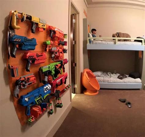 nerf bedroom 169 best images about store your nerf guns on pinterest