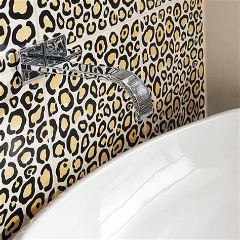 leopard print bathroom decor animal print decor latest patterns and trends