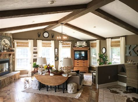 a pro s interior redesign of her own home faux wood workshop