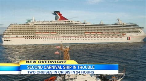 legend boats problems carnival cruise ships dream legend bothexperiencing