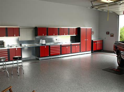 Garage Floor Paint Designs red deer garage cabinets ideas gallery garage specialties