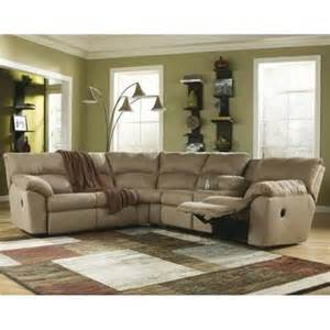 Mocha Sectional Sofa Signature Design By Furniture Microfiber Reclining Sofa Sectional In Mocha